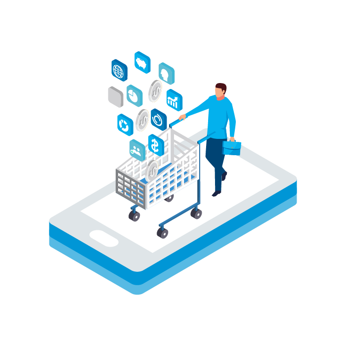 Integrated retail marketplace